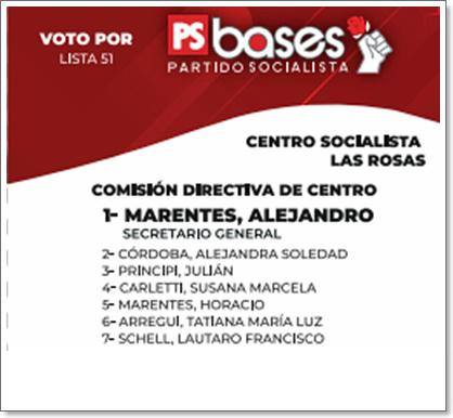 PS bases centro