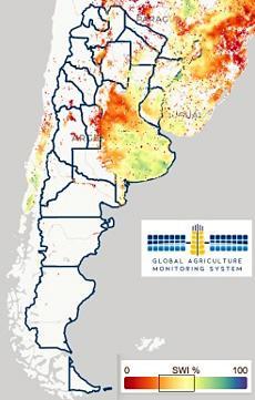 argentina imagen satelital