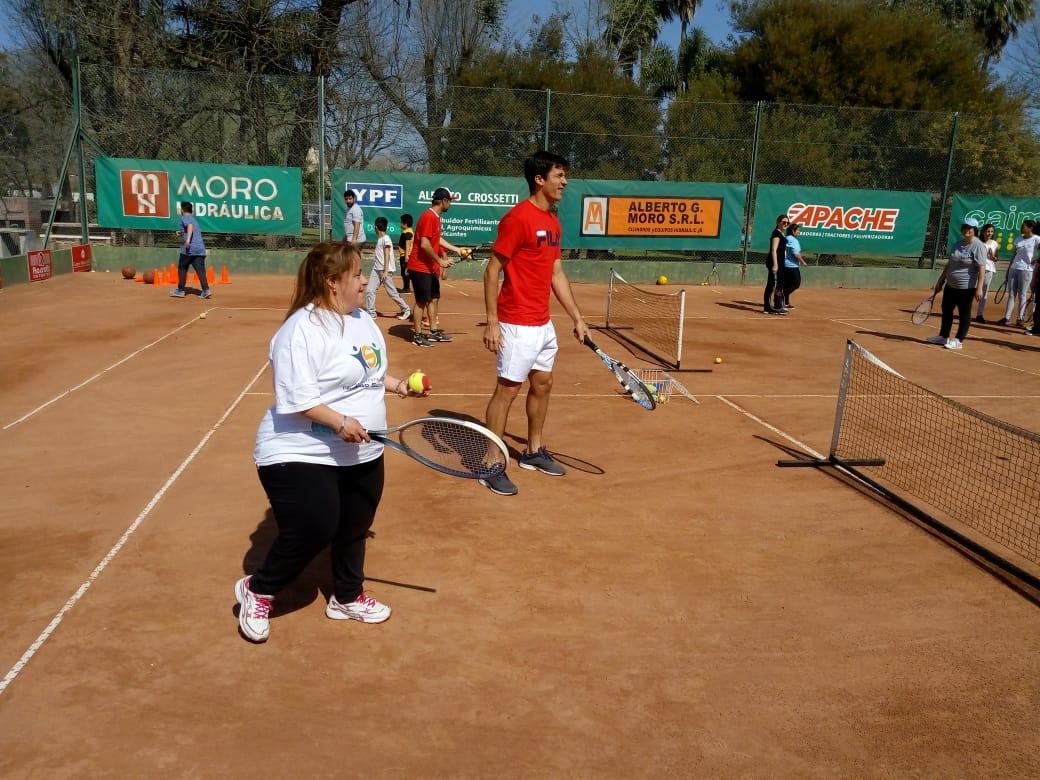 segundo tenis adaptado tenis