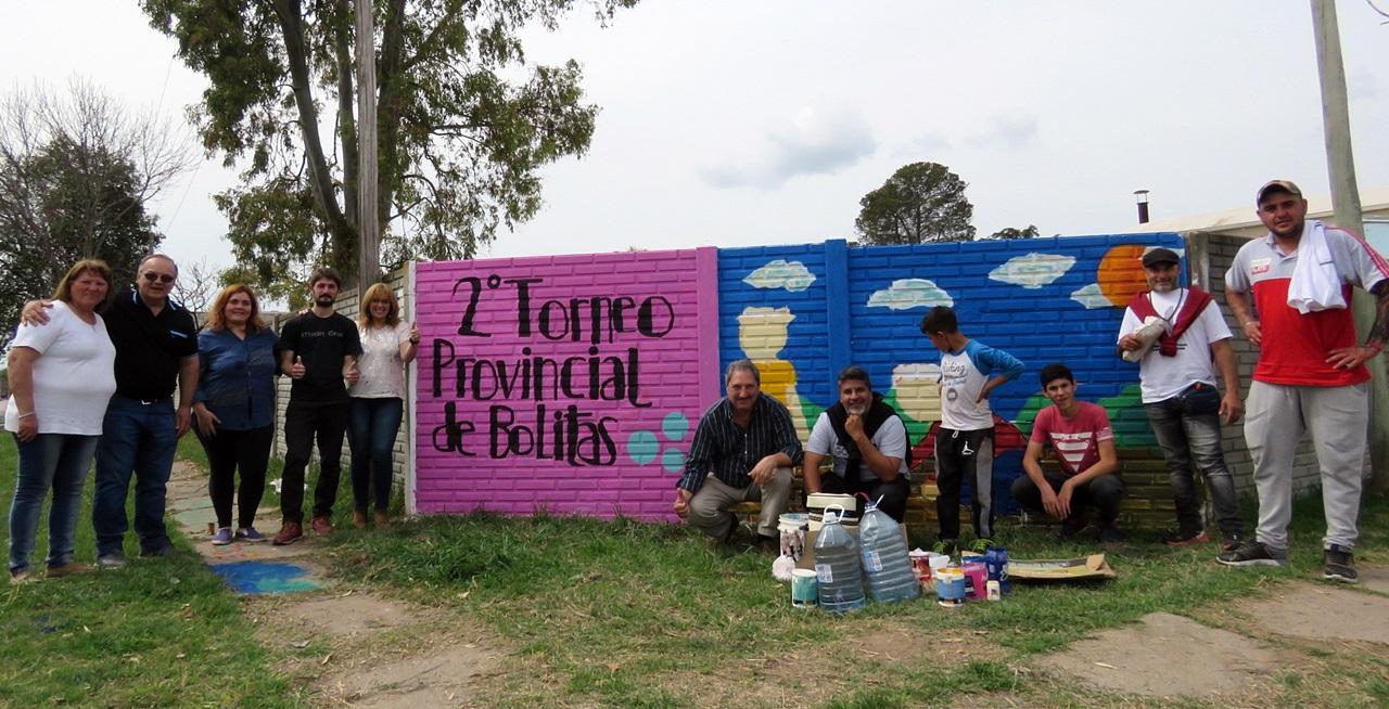 bolitas 2018 mural