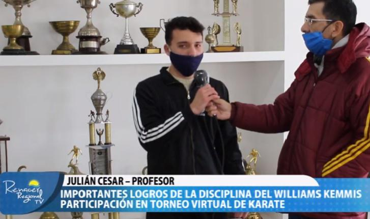 cesar julian torneo virtual karate