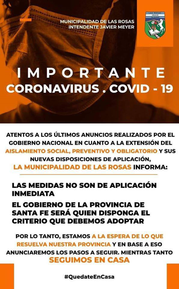 coronavirus no son de aplicacion inmediata