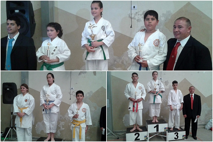 karate podio mosaico 1