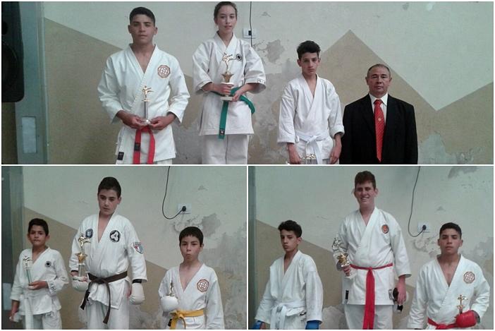 karate podio mosaico 2
