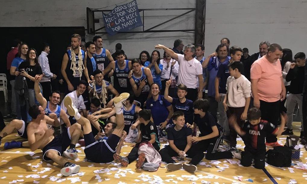 basquet ascenso alegria todos