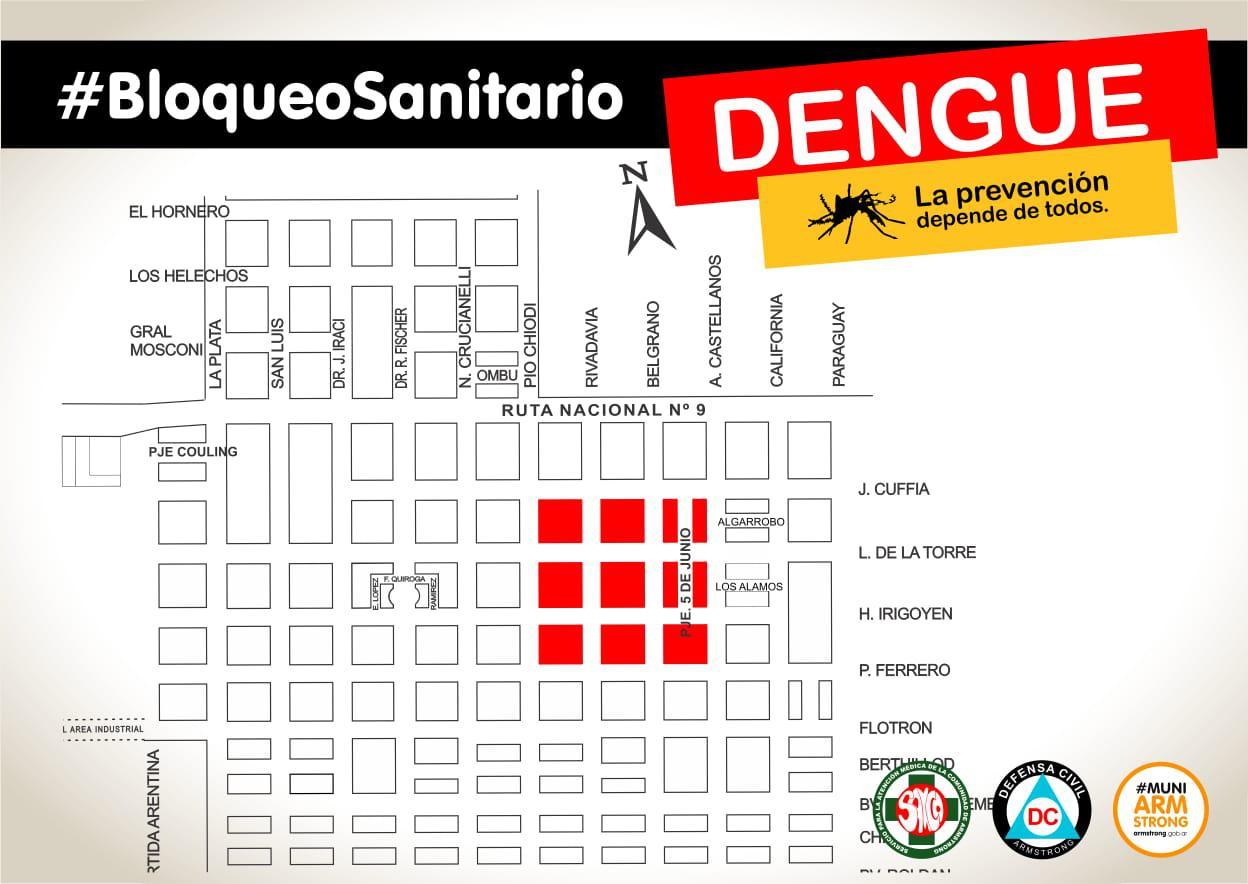bloqueo dengue