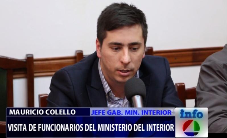 Mauricio colello secretario general del ministerio del for Ministerio del interior contacto
