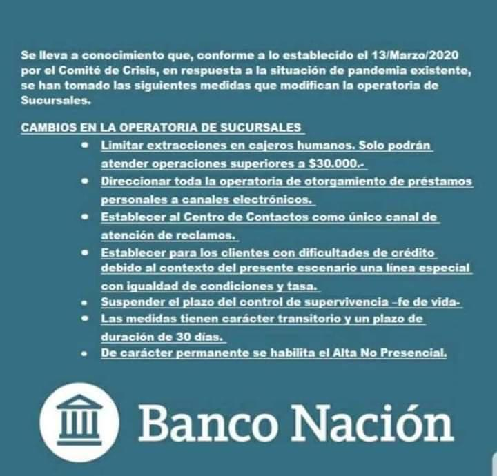 a prevencion banco nacion